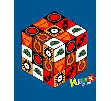 Kubrick Cube Photographic Print