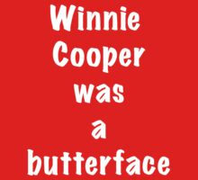 Winnie Cooper was a butterface by trippinmovies