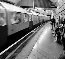 Embankment  - The Platform 2  by rsangsterkelly