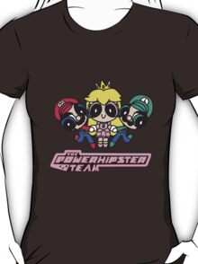 Team Mario in Powerpuff girls T-Shirt
