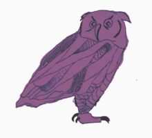 Owl I Ever Wanted-Purple by Jennifer Kaplan