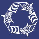 Recycle Sea Serpents by Mark Gauti