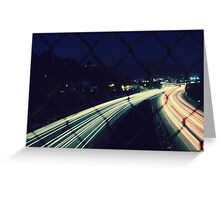 City Flow Greeting Card
