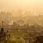 Kathmandu dawn by Alan Robert Cooke