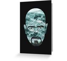 Heisenberg, ice man Greeting Card