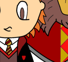 You might belong in Gryffindor, Where dwell the brave at heart, Sticker