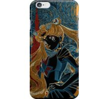 Usagi and the Starry Night iPhone Case/Skin