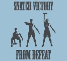 Snatch Victory From Defeat Tee by MindBodyBeard