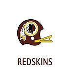 Washington Redskins NFL Helmet iPhone Case by aschwall33