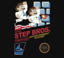Super Step Bros. by FullBlownShirts