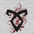 Floral Angelic Rune - Mortal Instruments by LovelyOwls