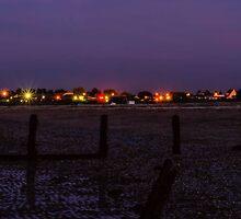 Leysdown at night by JEZ22