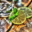 Mint and Lime II by Jimmy Ostgard