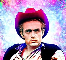 James Dean, Cowboy Hat by sebmcnulty