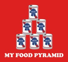 Beer. My Food Pyramid by partyanimal