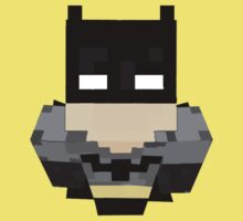 Minecraft Batman. by jscott0142