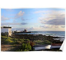 Fisherman's Cottage Arrieta Poster