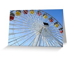 Under the Ferris Wheel Greeting Card