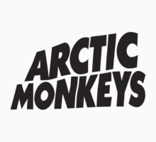 Arctic Monkeys Black Logo by AimLamb