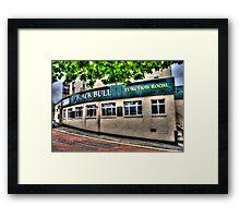 Black Bull Gateshead Framed Print