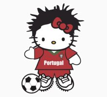 Hello Kitty Portugal Soccer by daleos