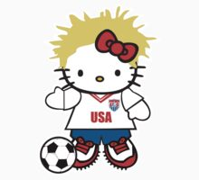 Hello Kitty USA Soccer by daleos