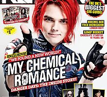 gerard way mcr kerrang by georgina edwards
