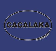 Cacalaka Euro Oval Sticker by CarbonClothing