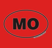 Missouri MO Euro Oval Sticker by CarbonClothing