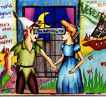 Run Away With Me - Peter Pan by LittleMizMagic