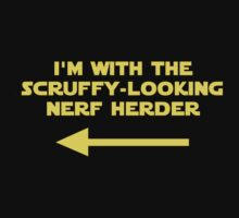 I'm With the Nerf Herder by NevermoreShirts