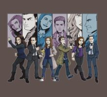 Agents of S.H.I.E.L.D. Line Up by pagebranson