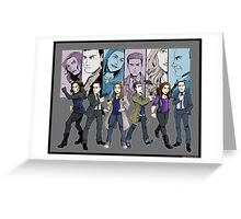 Agents of S.H.I.E.L.D. Line Up Greeting Card
