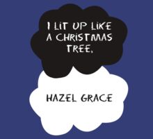 TFIOS - I lit up like a Christmas tree, Hazel Grace by Connie Yu