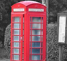 Red Phone Box by David King
