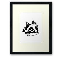 Paint Kong Framed Print