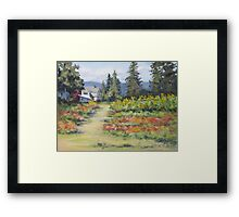 U-Pick Beauty Framed Print