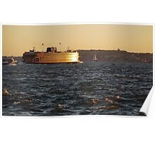 Staten Island Ferry Poster
