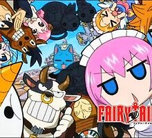 Fairy Tail Poster by PixelWarrior123