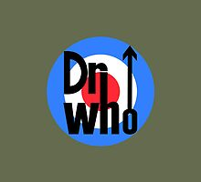 Dr Who Target (with arrow) - Khaki Green by Moovian