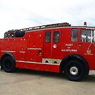 Dennis Fire Engine - Williamstown Seaworks by Bev Pascoe