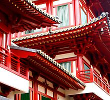 Chinese Architecture by jwwallace