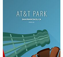 Minimalist AT&T Park - San Francisco by pootpoot