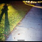Shadow and Grass (Lomo) by vm campos