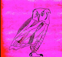 Owl I Ever Wanted iPhone Case- Fuchsia by Jennifer Kaplan