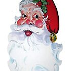 Vintage Style Jolly Santa  by taiche