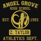 Angel Grove H.S. (Black Ranger Edition) by johnbjwilson