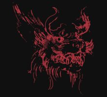 Red Dragon Mythical Beast by Archpress