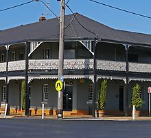 Mudgee Hotel, Mudgee, New South Wales, Australia by Margaret  Hyde