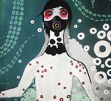 OctoBoy Underwater by Elizabeth Dibois